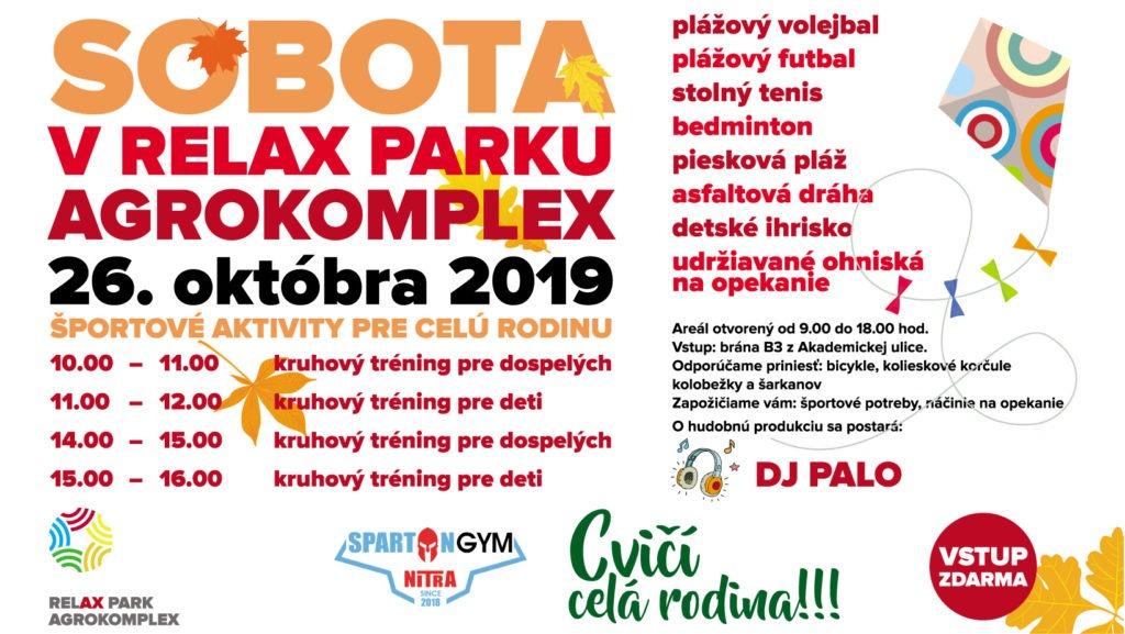 Sobota v Relax Parku 2019