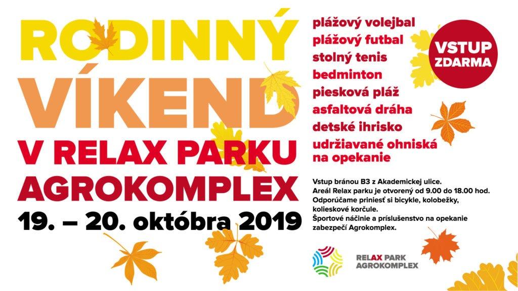 Rodinný víkend v Relax Parku 2019