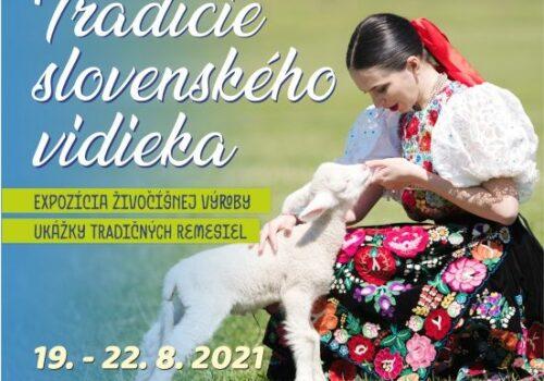 Tradície slovenského vidieka 19. – 22. 8. 2021